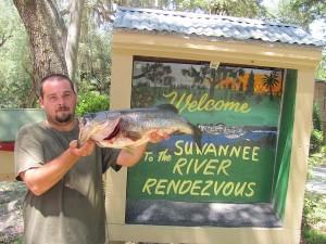 Bass Fishing Mayo Florida
