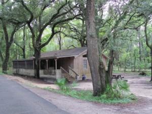 Chalet Cabin Rental in Mayo FL