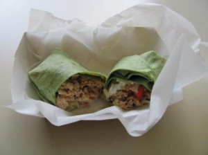Beef or Chicken Wrap $4.50