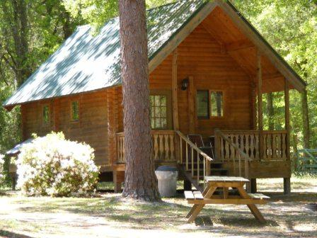 Log Cabin Vacation Rentals Resort In Mayo Florida