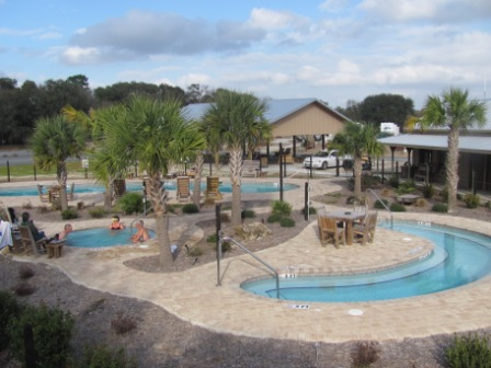 Suwannee River Rendezvous Resort & Campground Pool
