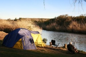 camping fishing trip