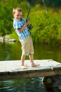 When Is Good Age To Start Taking Your Child Fishing