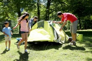 Tips for Taking Kids on Their First Camping Trip