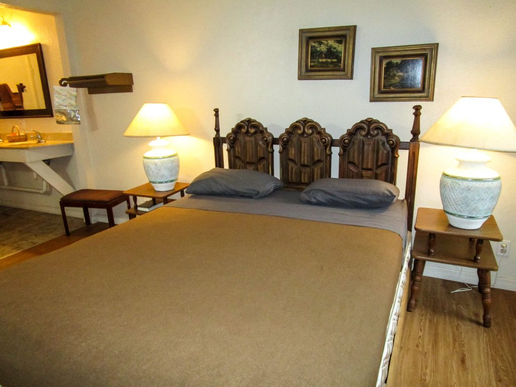 Bed in Lodge Room #4