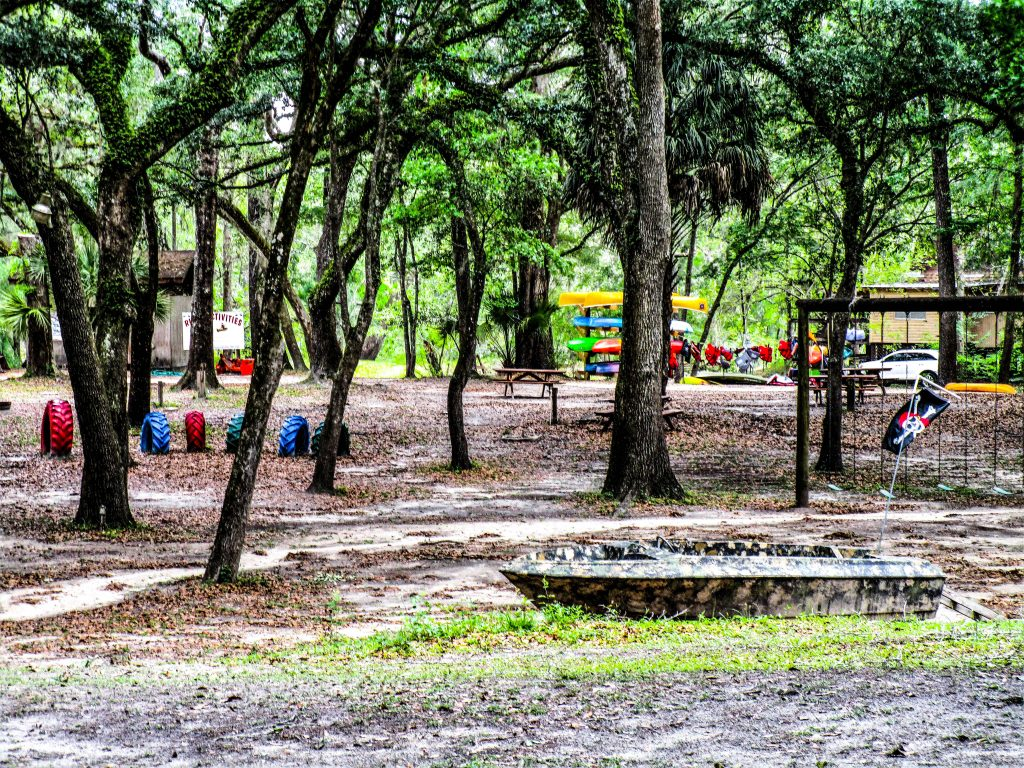 Playground in Camp Site Area