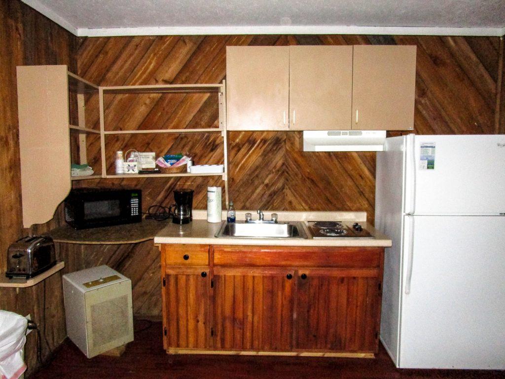 Kitchen inside Spring House