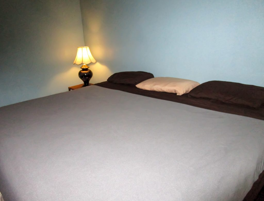 King Bed with Night Stand