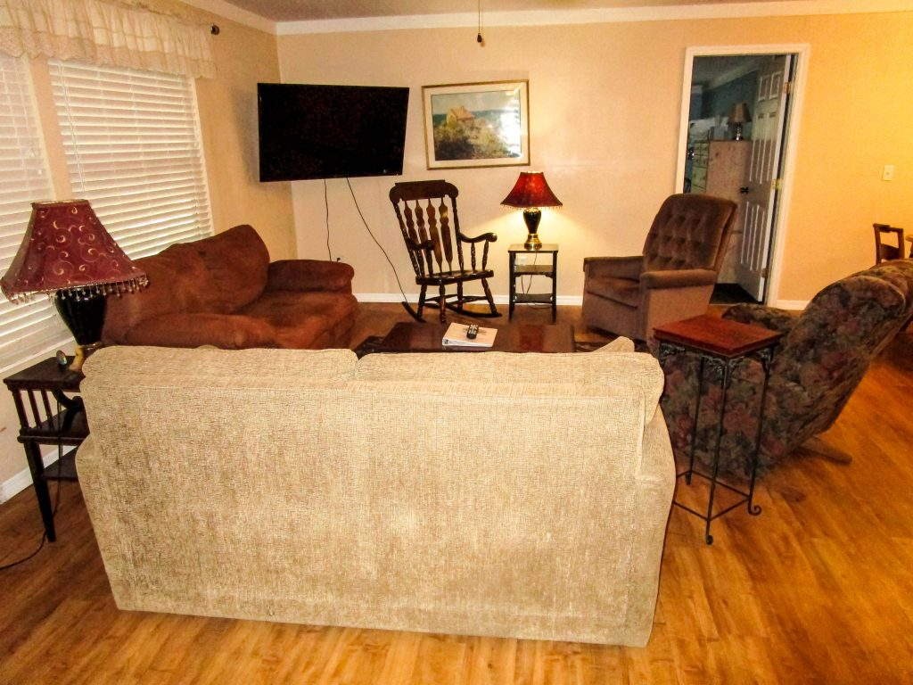 Tree House Cabin Living Room